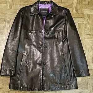 Andrew Marc New York Soft  Leather Jacket
